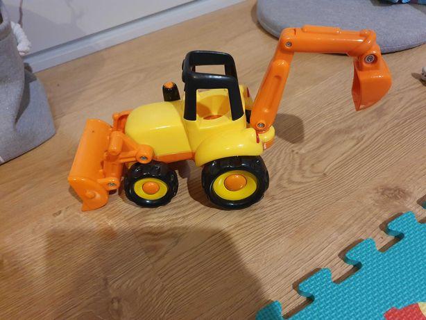 Koparka pomarańczowa żółta  SMIKI