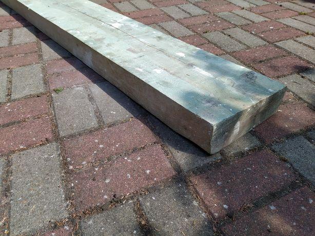 Bela drewniana deska decha długość 158 cm