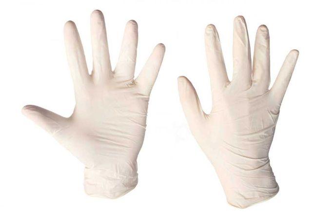 Одноразовые перчатки винил, латекс опудренные/неопудренные