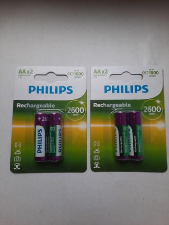 Аккумулятор R6/ AA MULTILIFE 2600 mAh Blister 2шт пр-во Philips