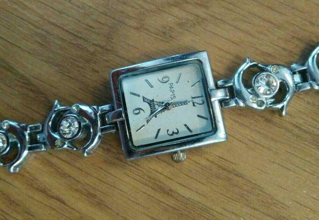 Часы наручные Эйфелева башня Париж годинник вежа дельфин