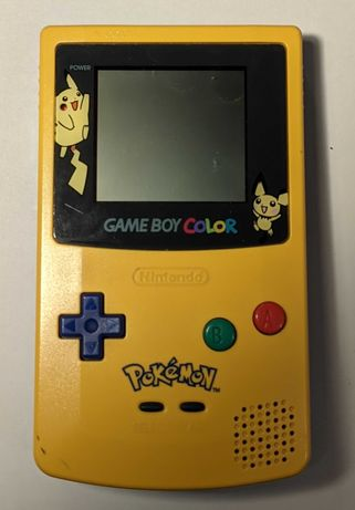 Nintendo Gameboy Color Pokemon Game Boy CGB-001 konsola