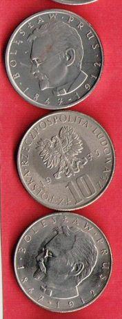 10 ZŁ 1975 B. PRUS,10 zł 1983 r .Nr.161