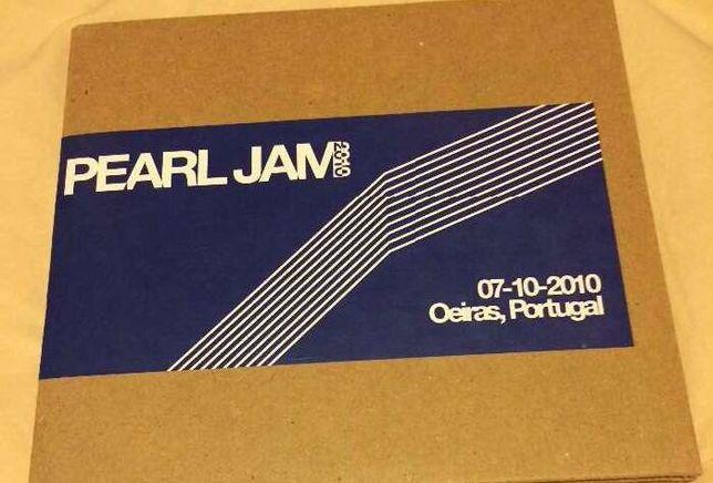 Pearl Jam Oeiras alive Raridade Lisboa cd duplo