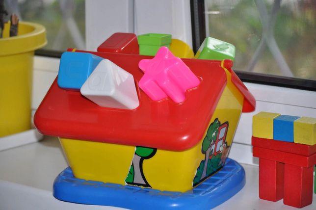 Домик с кубиками