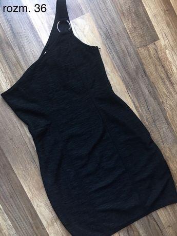Czarna sukienka H&M w rozm. 36 S