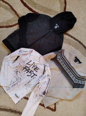 Реглан+свитер+ветровка на 8-10лет