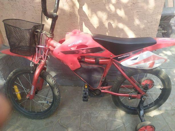 Велосипед детский BMX, 16 дюйм, б/у.
