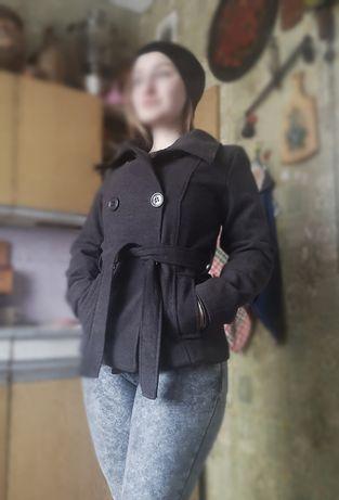 Пальто кашемировое пиджак на осень зима весна деми, М