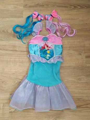 Платье, карнавальный костюм, принцесса Ариэль