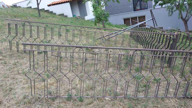 Grade de proteção em ferro galvanizado
