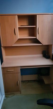 Biurko z szafką (łączone)