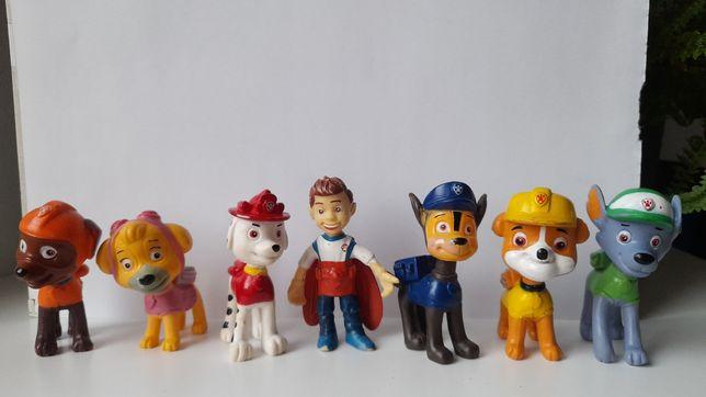 Figurki Psi Patrol- duże,  kolorowe