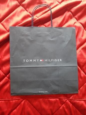 Torebka papierowa Tommy Hilfinger