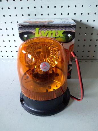 Lampa błyskowa / Kogut LYNX 24V PRZEGUB. New Holland, Case, John Deere