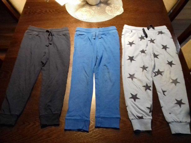 Spodnie dresowe h&m r 116