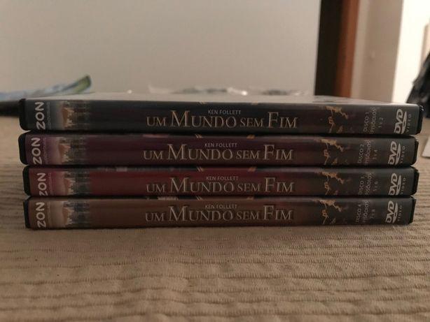 DVD Coleção Um Mundo sem Fim