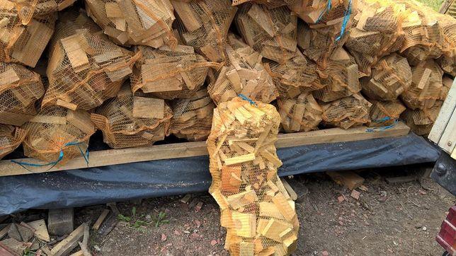 drewno na rozpałke duży worek za 8 zł