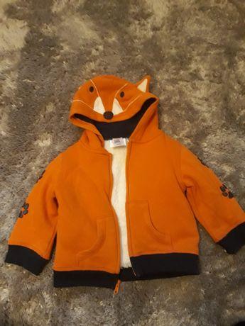 Bluza + bezrękawnik dla chłopca 92