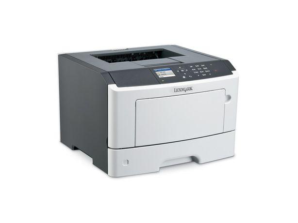 drukarka laserowa Lexmark M1145 gotowa do pracy Polskie MENU