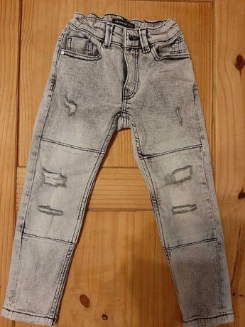 Spodnie jeansowe RESERVED rozm.116