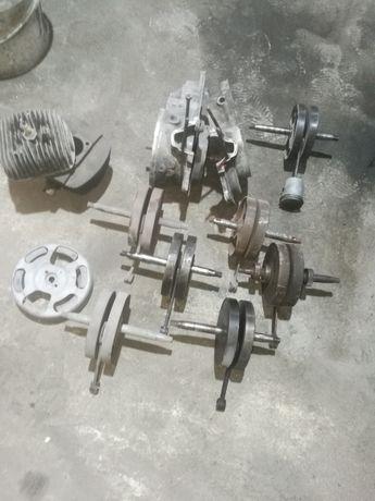 Części wsk 125 wał cylinder kartery