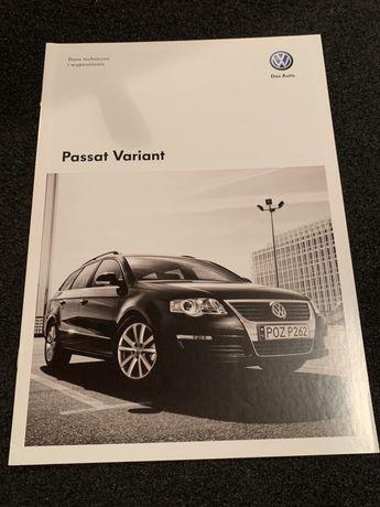 Prospekt Volkswagen Passat Variant