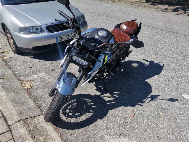 Fkmotor 125cc scrambler