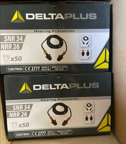 Термопластиковые Беруши на Шнурке Deltaplus (SNR 34 DB)