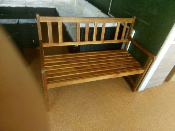 Ławka drewniana 120x55x90 cm