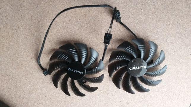 Кулер / вентилятор Gigabyte GTX1050, 1060 ,1070 960 RX470, 480, 570 58