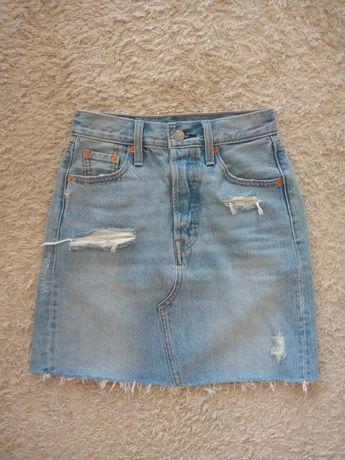 Levis spódniczka jeansowa xs w23 nowa