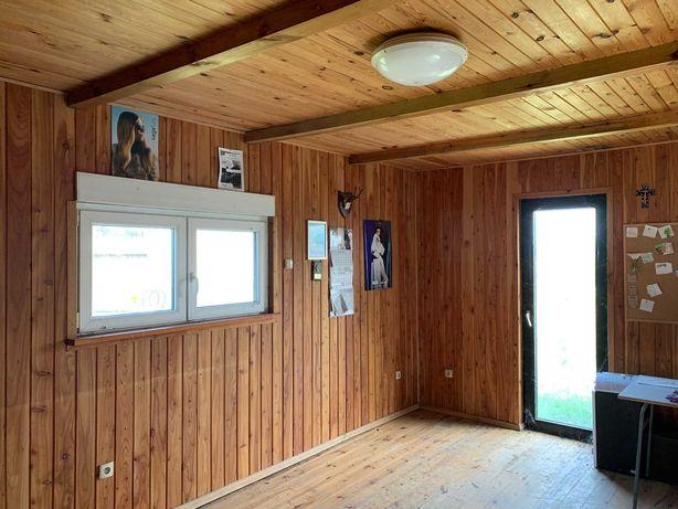 Domek drewniany letniskowy, dom drewniany całoroczny 40m2 / Mosina
