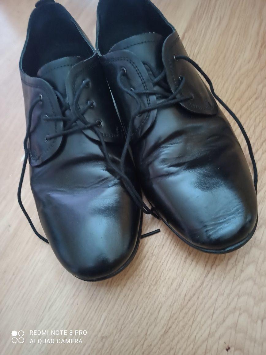 Pantofle Lasocki 38 chłopiec komunijne