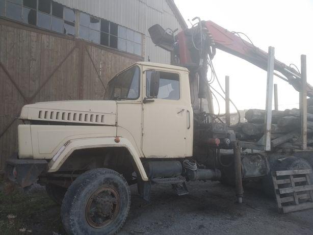 Лісовоз Краз-260