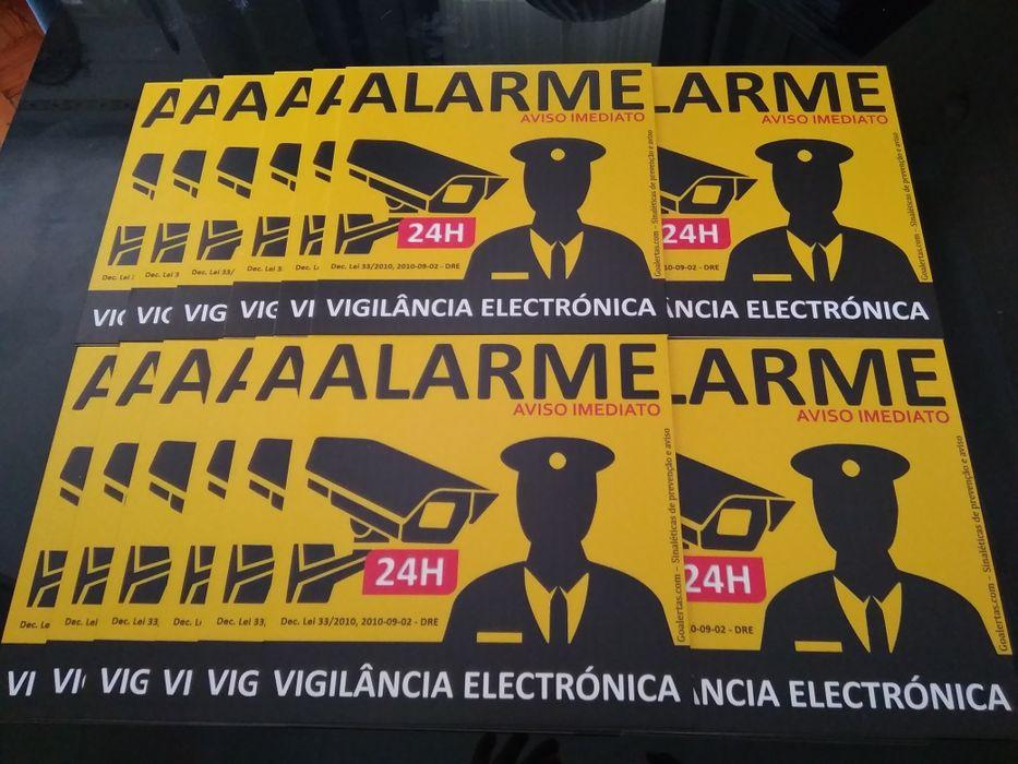 Placas de aviso de alarme São Mamede De Infesta E Senhora Da Hora - imagem 1