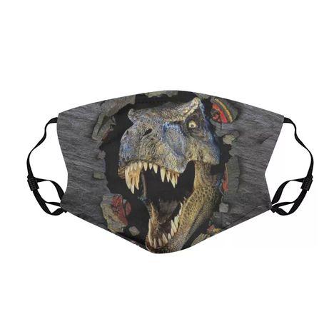 Маска с динозавром
