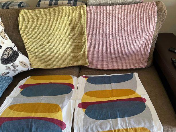 Conjunto de 4 capas para almofadas IKEA - como novas