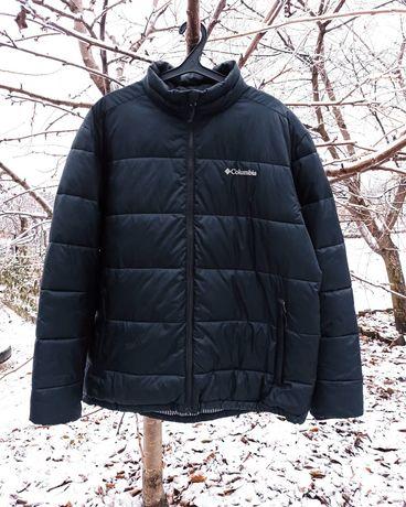 Куртка зимняя пуховик мужской теплая от Columbia XL XXL