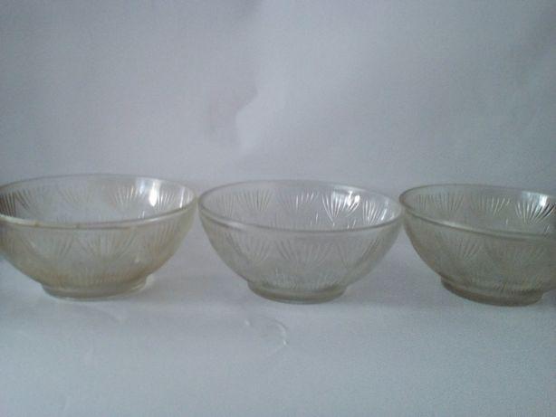 Стеклянные салатницы/фруктовницы из качественного материала