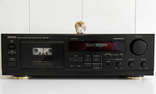 Denon DRM-550 Tape Deck Cassetes