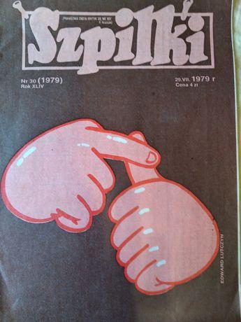 Stara Gazeta Szpilki 1979