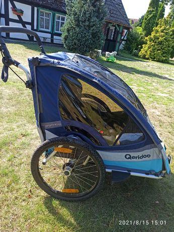 Przyczepka rowerowa Qeridoo Sportrex 2 (wózek dla dwojga dzieci)