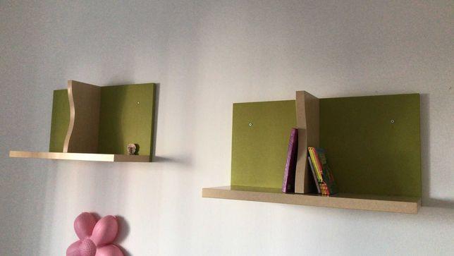 Estantes de parede (conjunto da cama)
