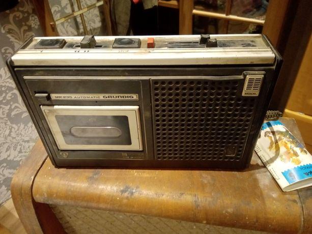 Radio grundig sprawne plus kasety