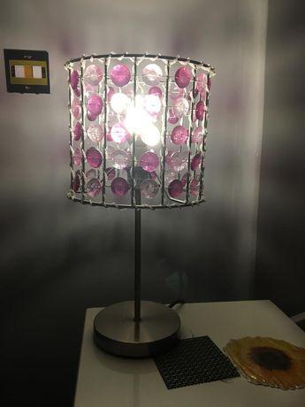 Lampa wisząca i dwie stojace