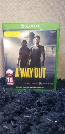 A Way Out PL na Xbox one