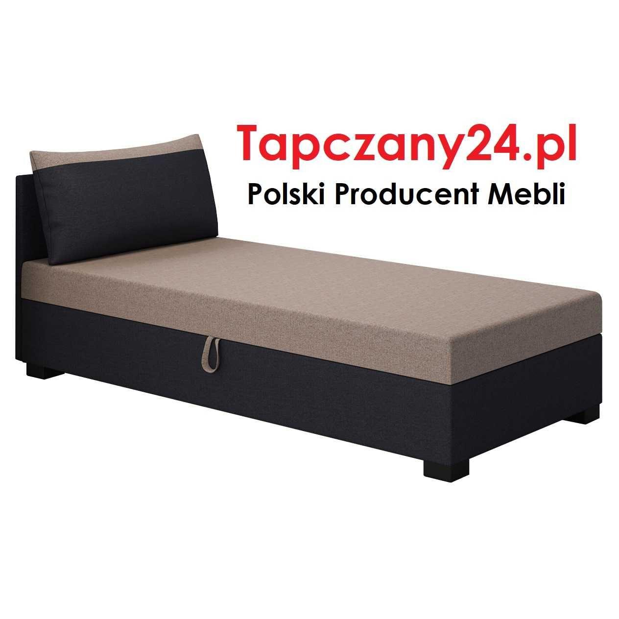 Łóżko młodzieżowe 90/100/110/120 Tapczan jednoosobowy z pojemnikiem