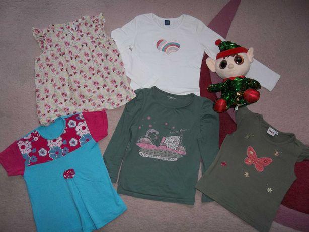 Распродажа! Пакет туник-футболок-лонгсливов H&M, TU, Verbaudet 4-5 лет