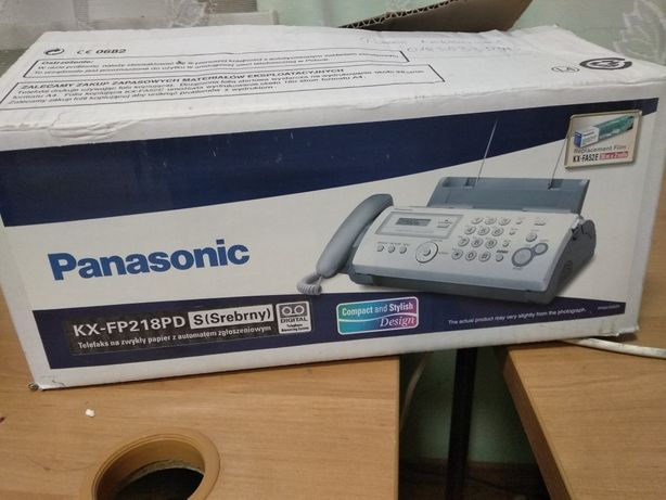 TeleFax Panasonic kx-fp218pd